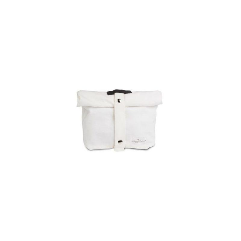 The Organic Company Lunch bag white