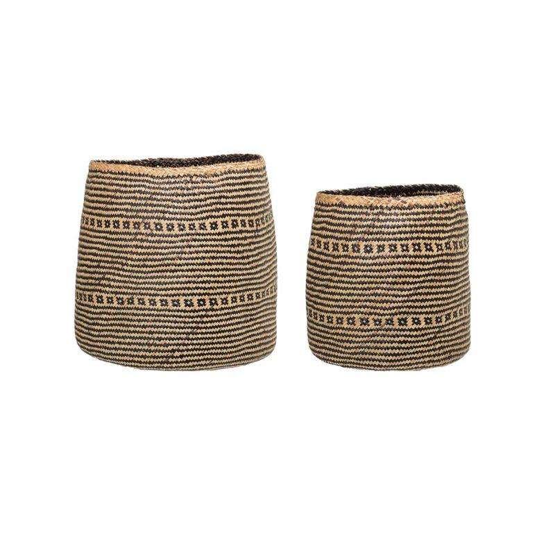 Bloomingville Seagrass basket set of 2