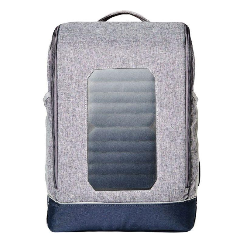 Knowledge Cotton Apparel Solar Backpack Big Monument Grey Mix