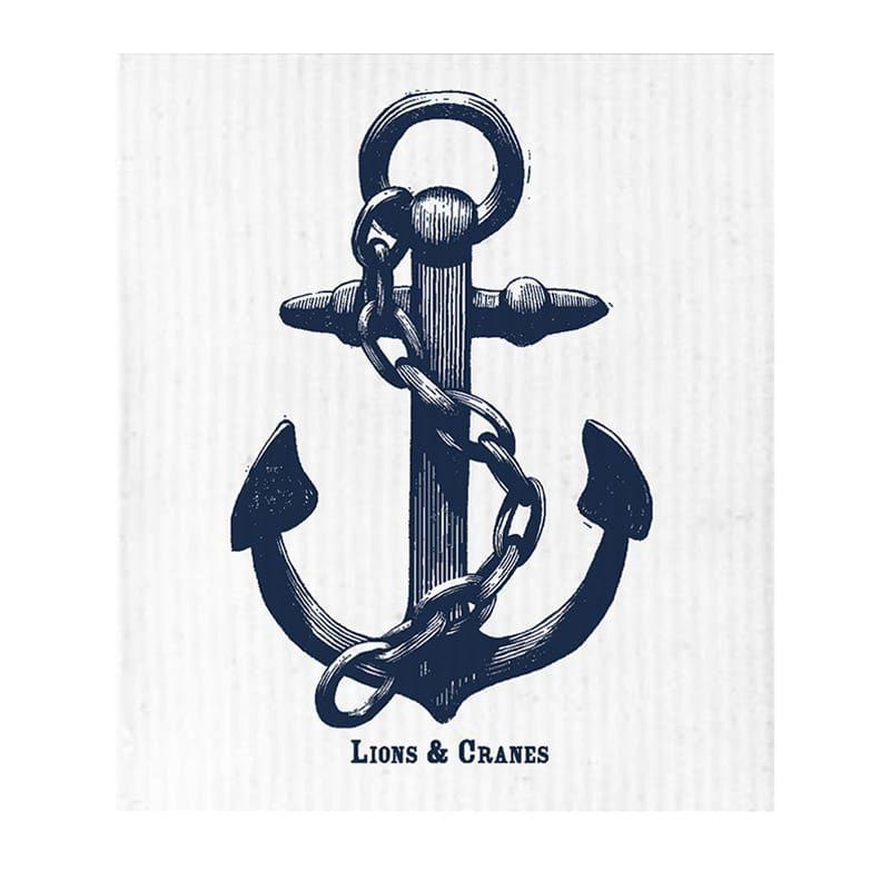 31-lionsandcranes-dish-cloth-anchor-white