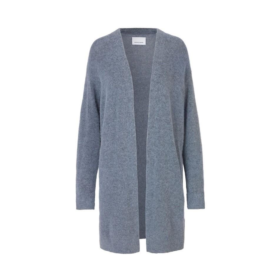 Samsoe & Samsoe Nor Cardigan Dusty Blue