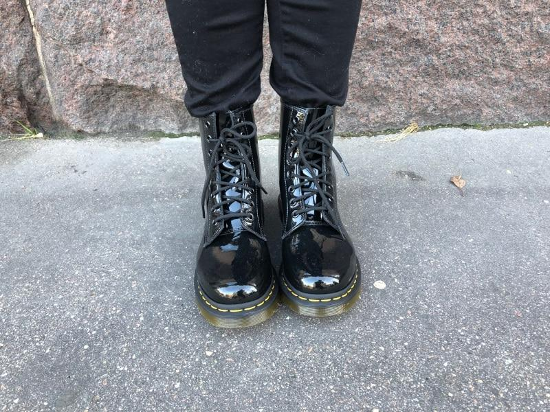 Dr. Martens 1460 W Black Patent Leather