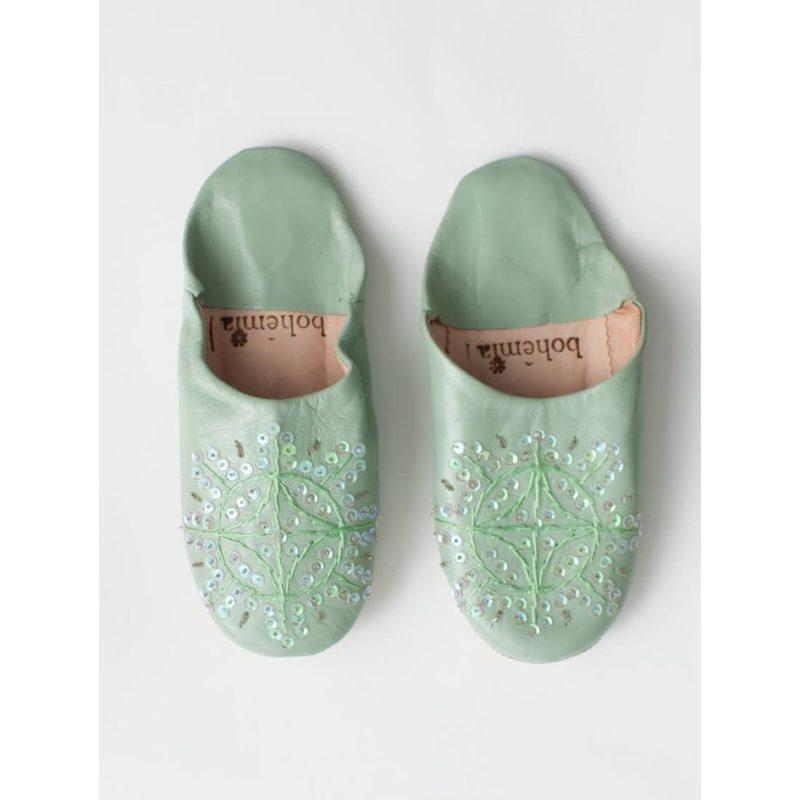 Bohemia-Babouche-Sequin-Slippers-Sage